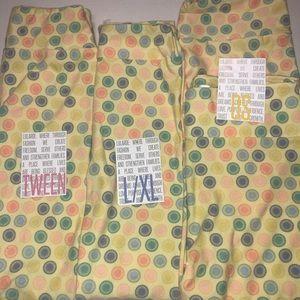 $28 for each set of matching Lularoe leggings
